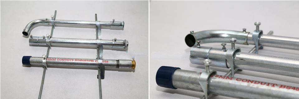 金属穿线管安装方式