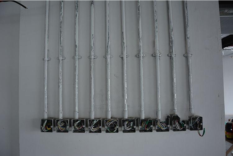 镀锌穿线管安装