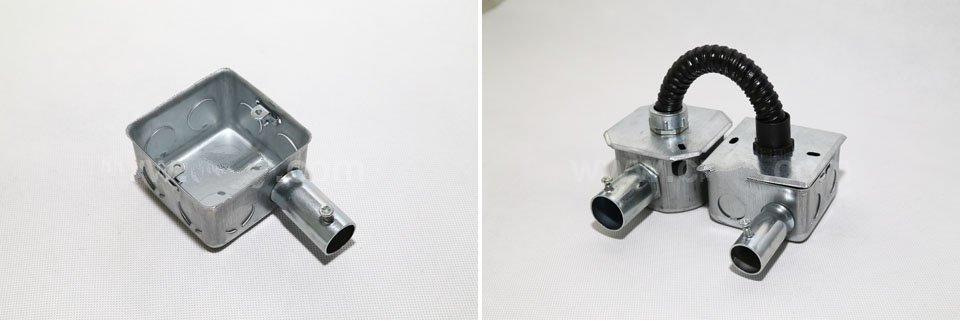 接线盒连接方式