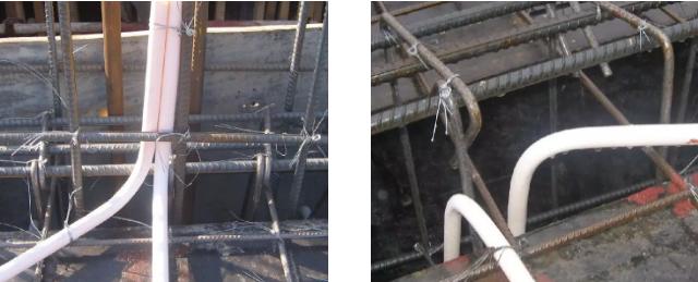 线管的布局 线管的上弯及下弯