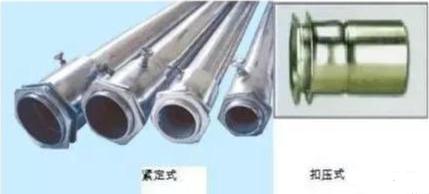镀锌线管连接方式